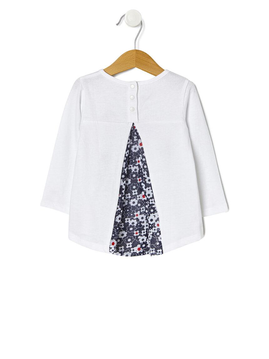 Camiseta com estampa e bordado - Prénatal