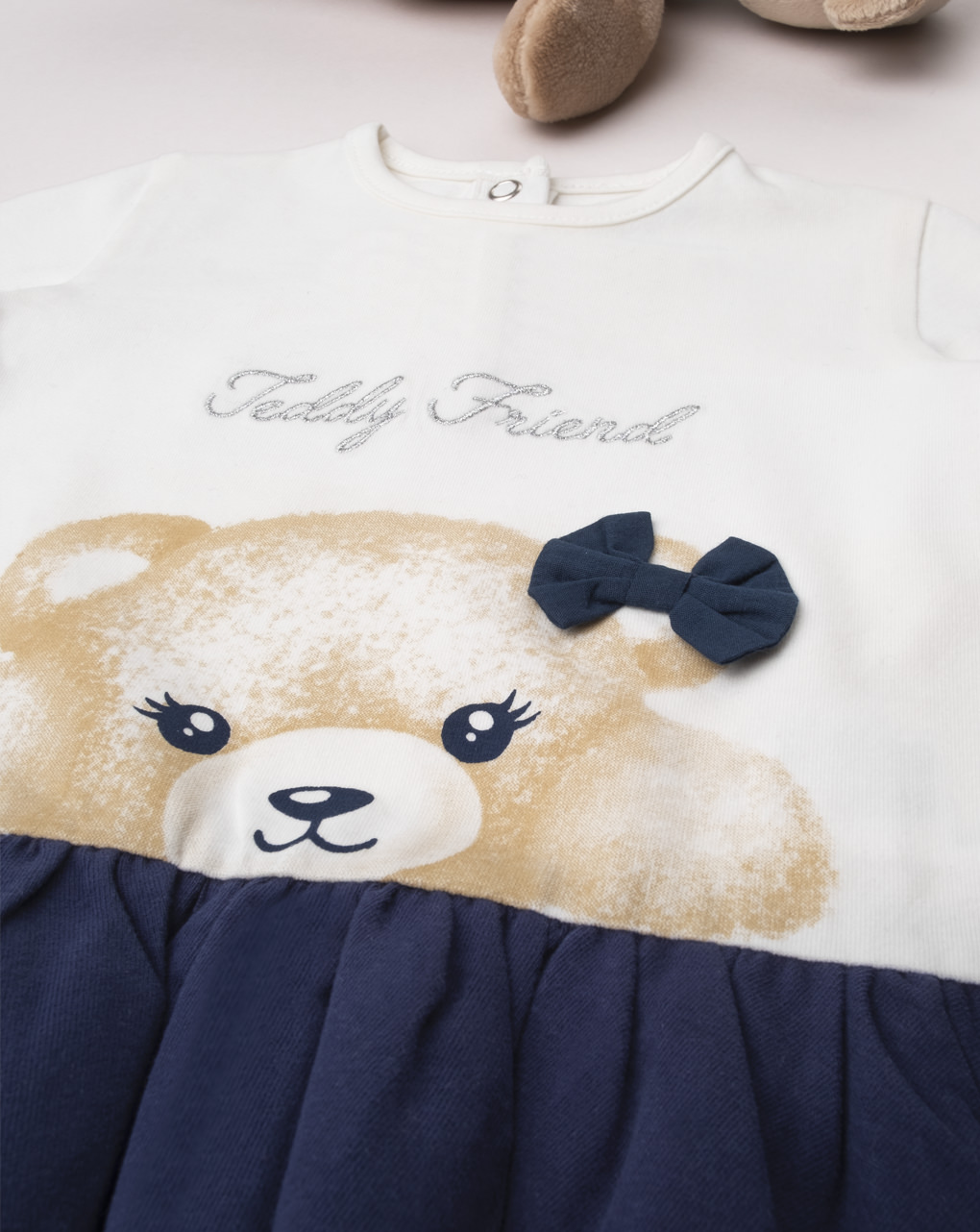 "T-shirt menina ""teddy friend"" - Prénatal"