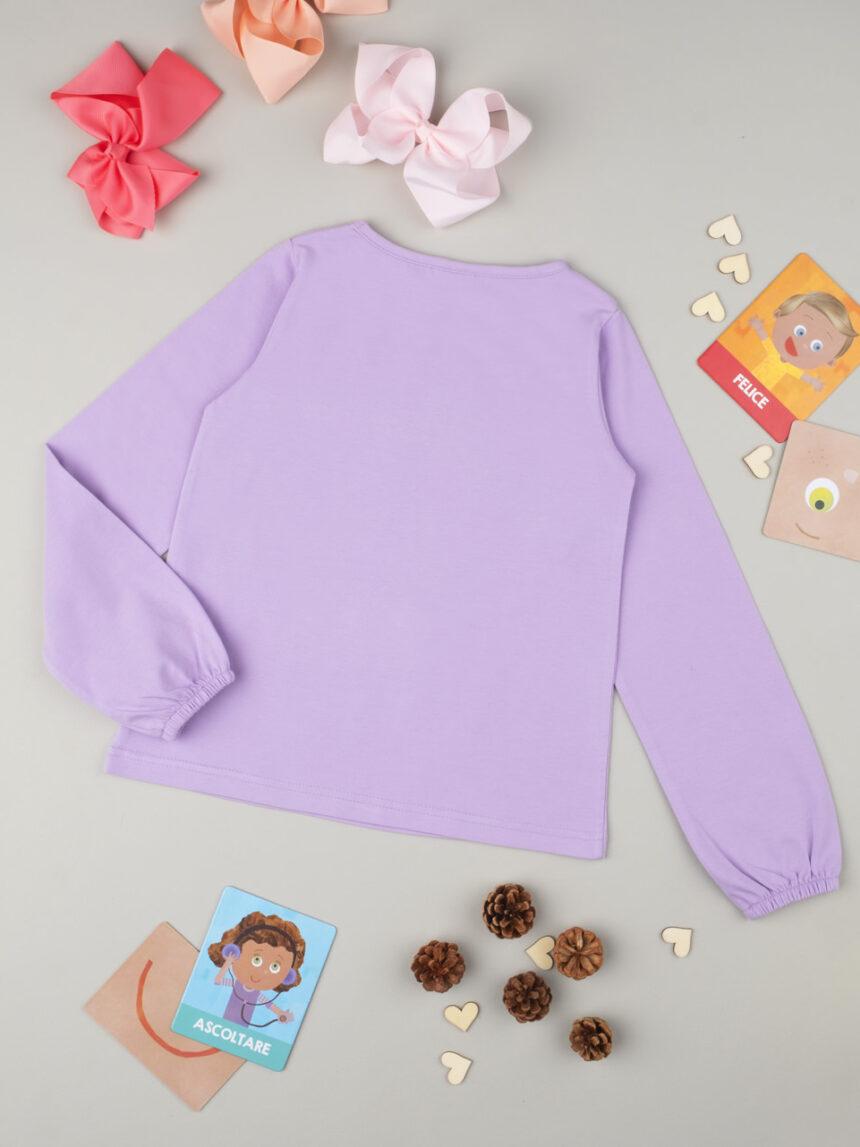 "T-shirt menina ""minnie"" lilla - Prénatal"