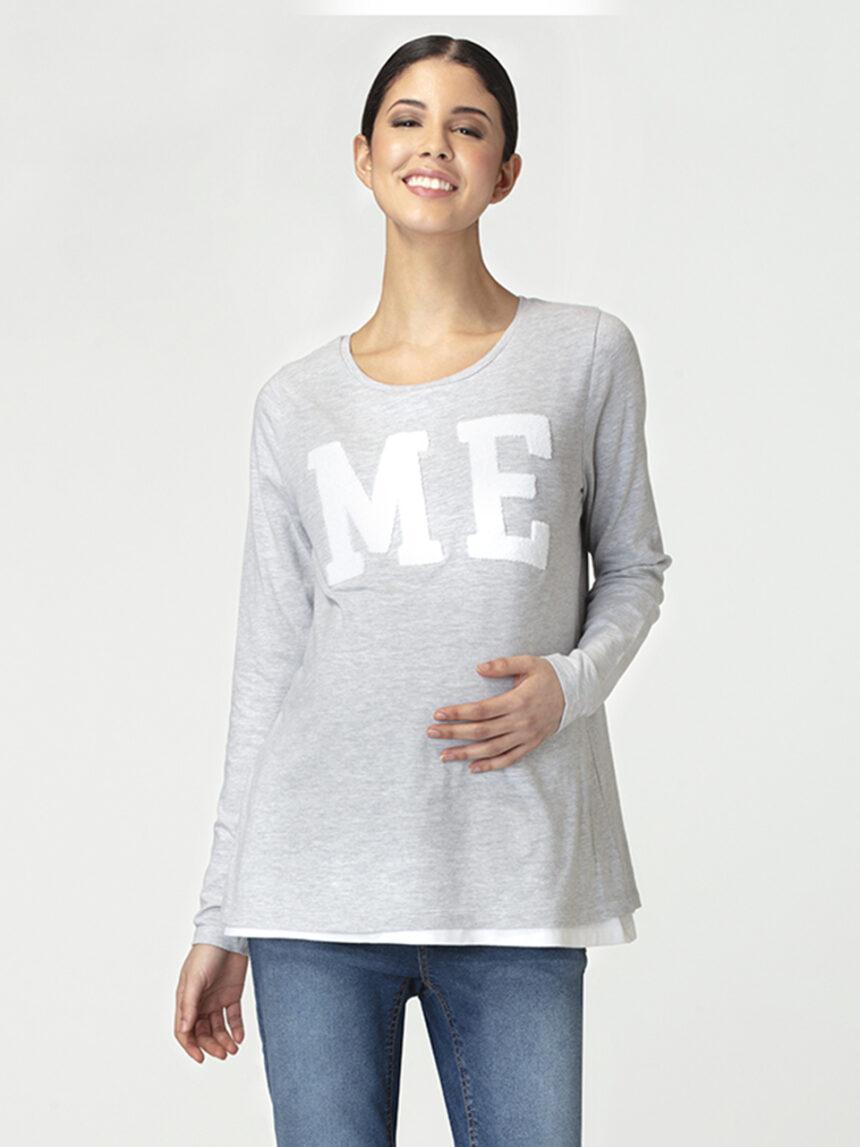 Camiseta de amamentação com patch - Prénatal