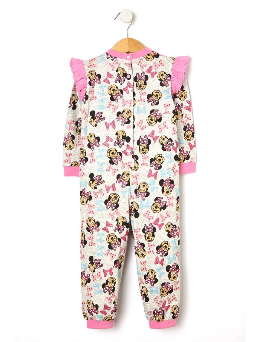 Minnie mouse com estampa de pijama - Prénatal