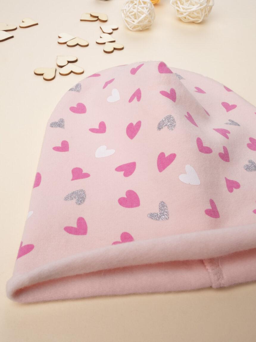 "Chapéu de menina ""corações"" - Prénatal"