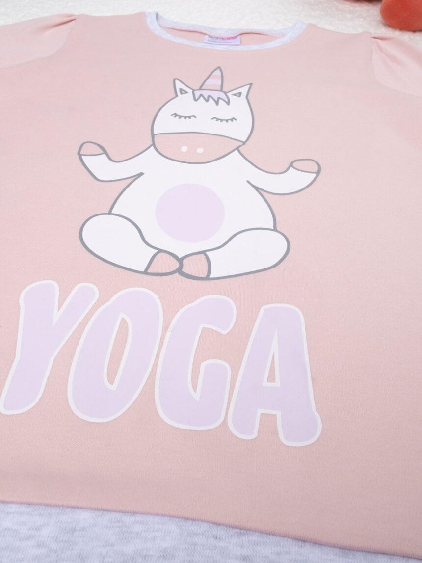 """Pijama de menina """"ioga"""" - Prénatal"""