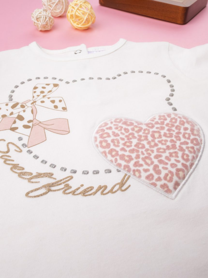 """T-shirt menina """"sweet friend"""" - Prénatal"""