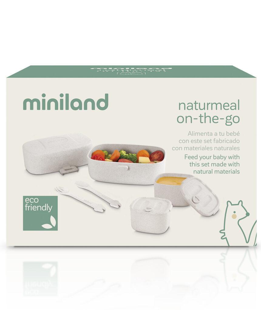 Ajuste comida naturmeal on-the-go - Miniland