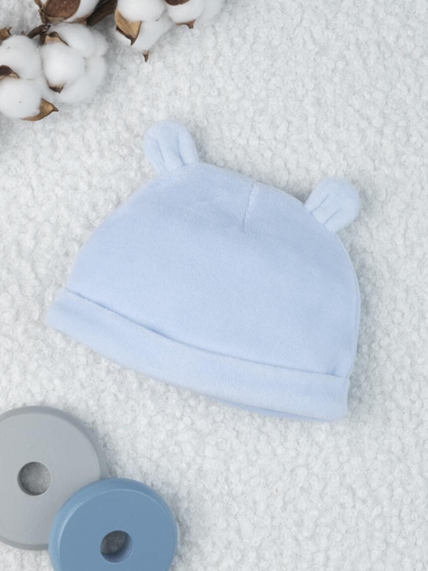 "Chapéu de menino chenille ""teddy bear"" - Prénatal"