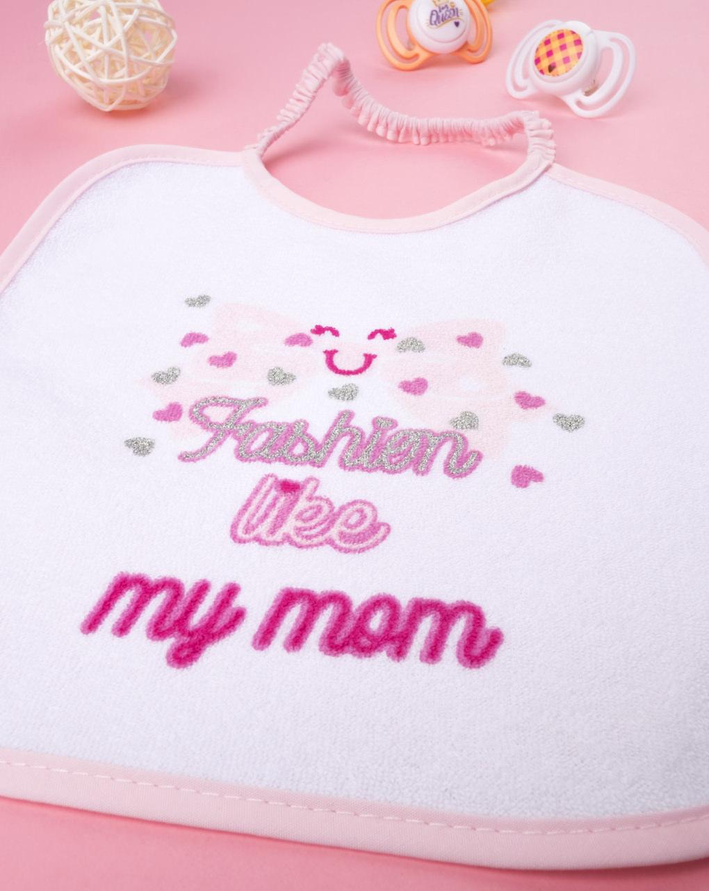 """Garota bavaglino """"fashion liky my mom"""" - Prénatal"""