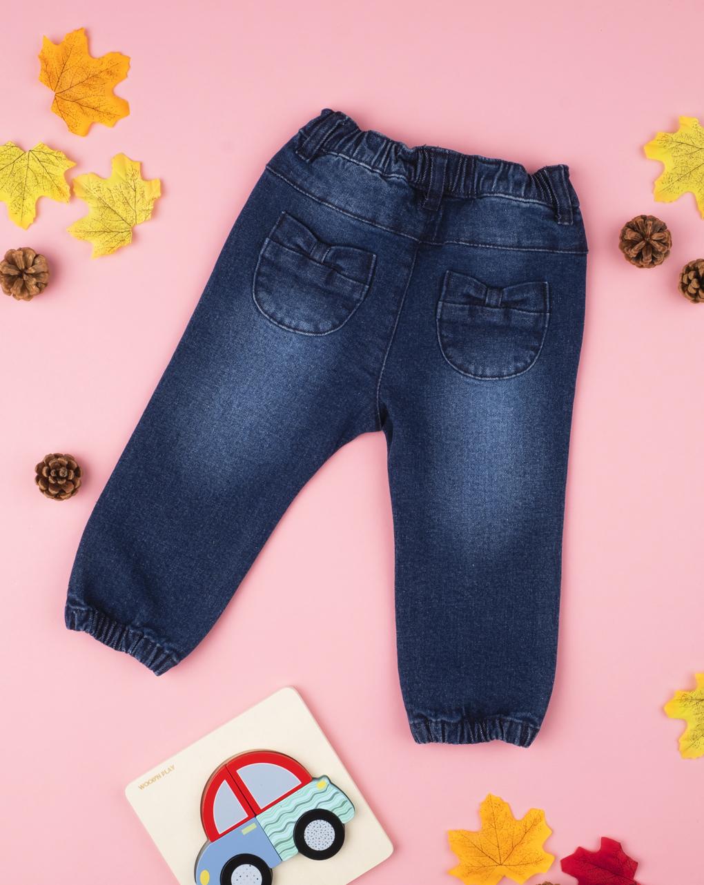 Garota jeans blu denim - Prénatal