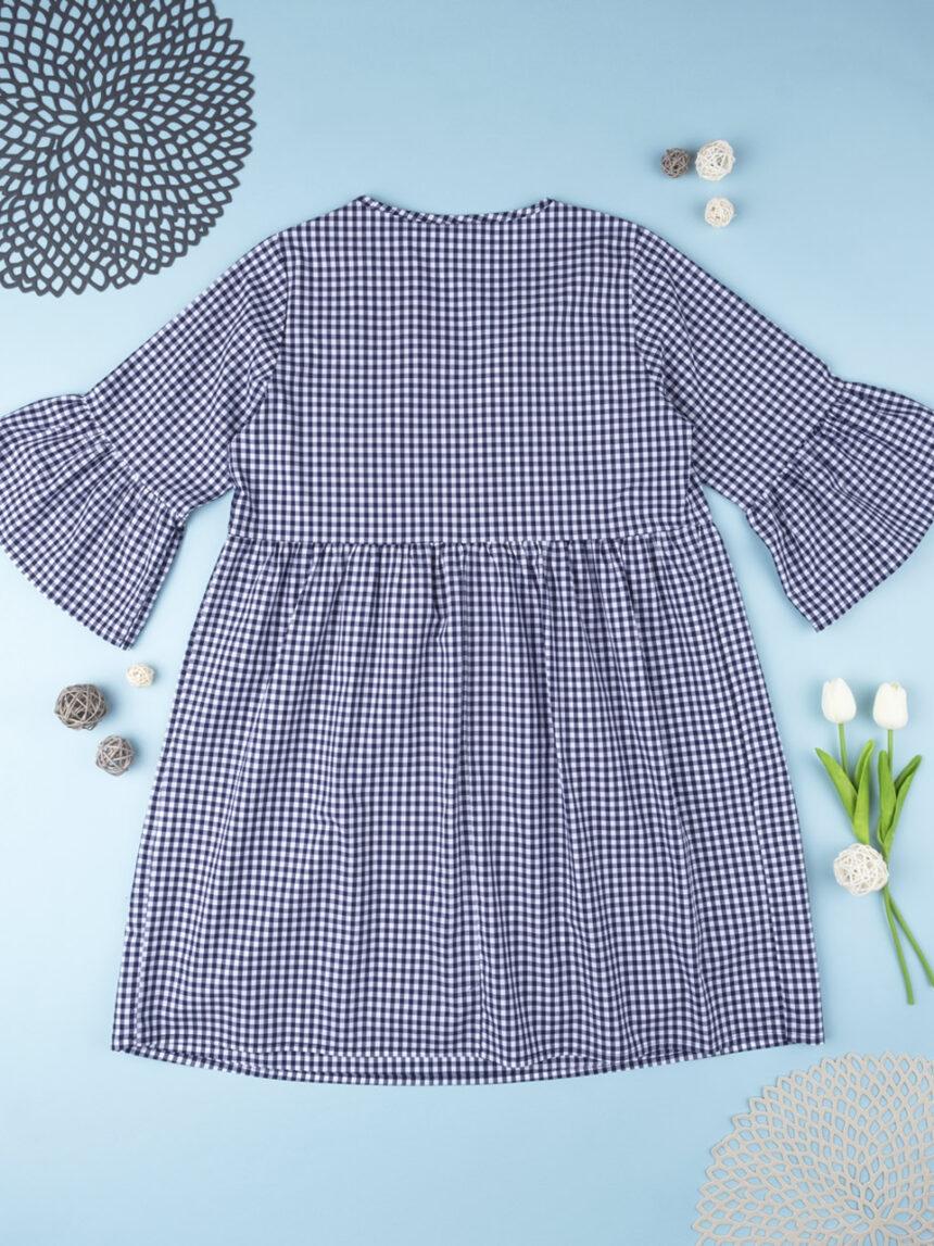 Vestido de amamentação azul e branco - Prénatal