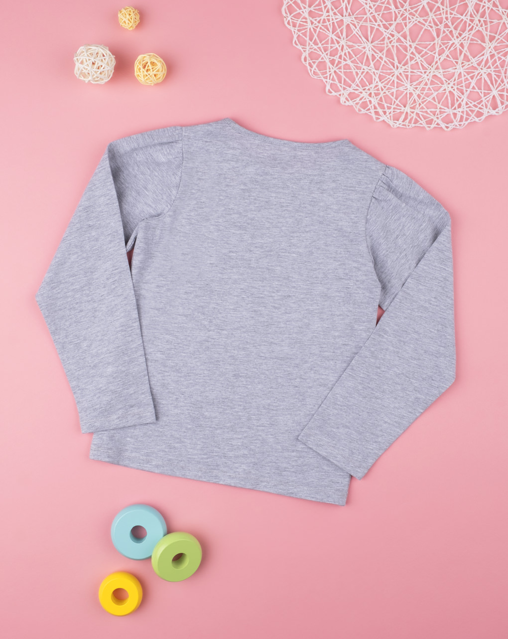 Camiseta menina cinza - Prénatal