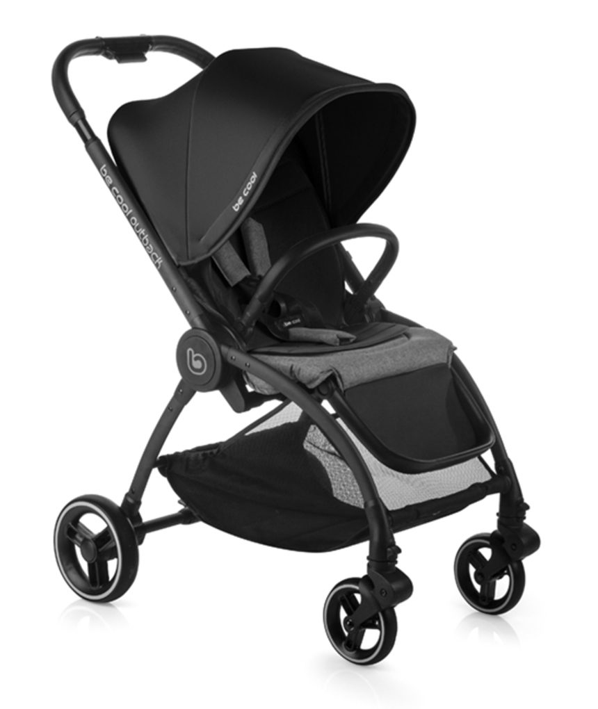 Becool - passeggino outback crib one black - Be Cool