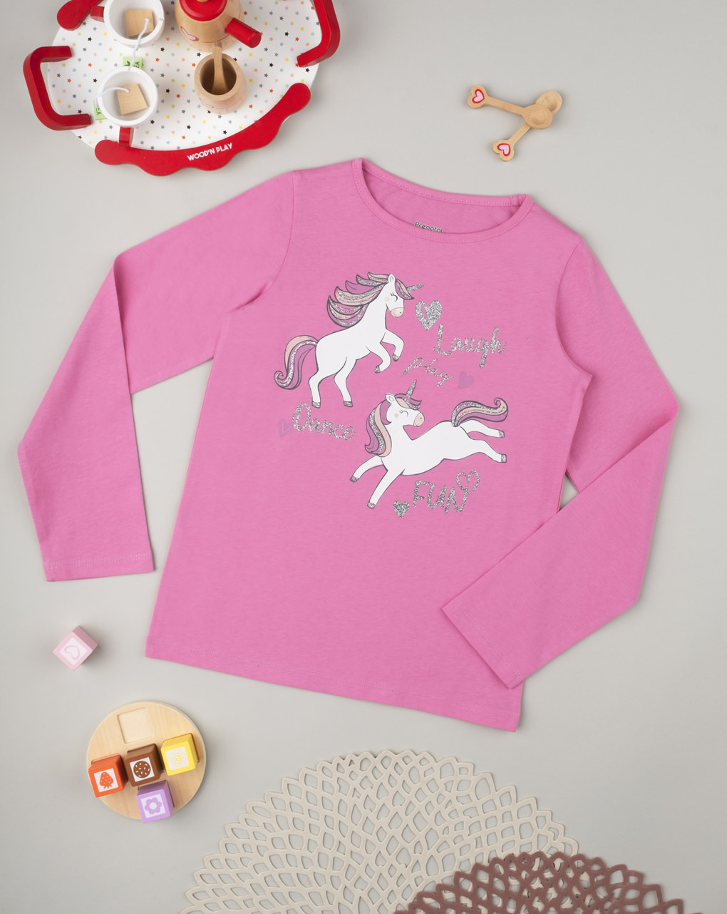 "Suéter feminino ""unicórnios"" - Prénatal"