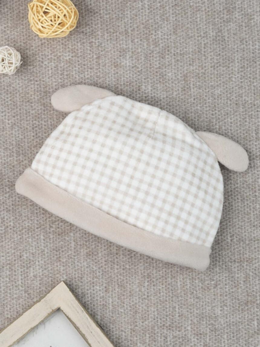 "Chapéu de menina chenille ""cachorrinho"" - Prénatal"