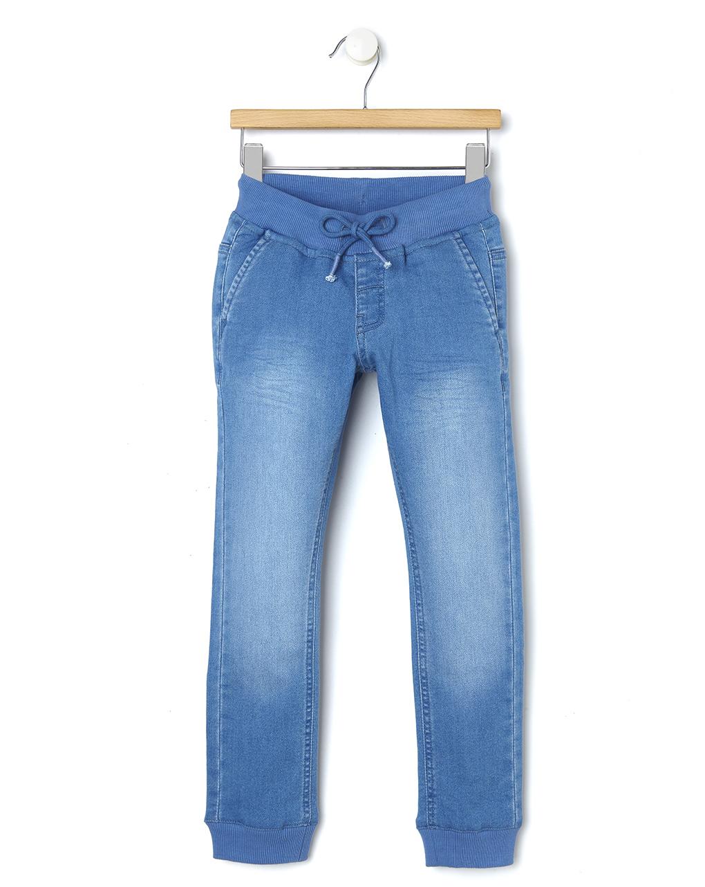Calça jeans com punhos na parte inferior - Prénatal
