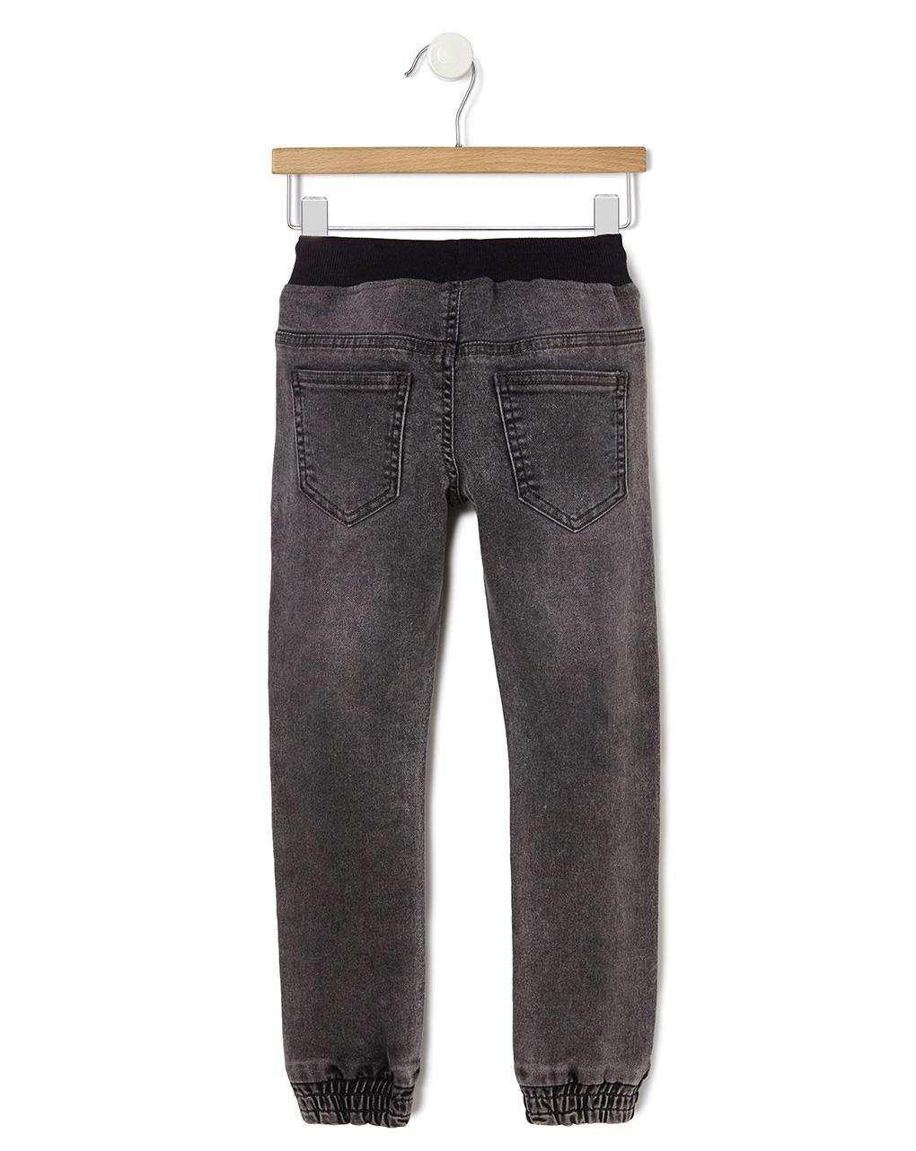 Calça jeans com elástico no tornozelo - Prénatal