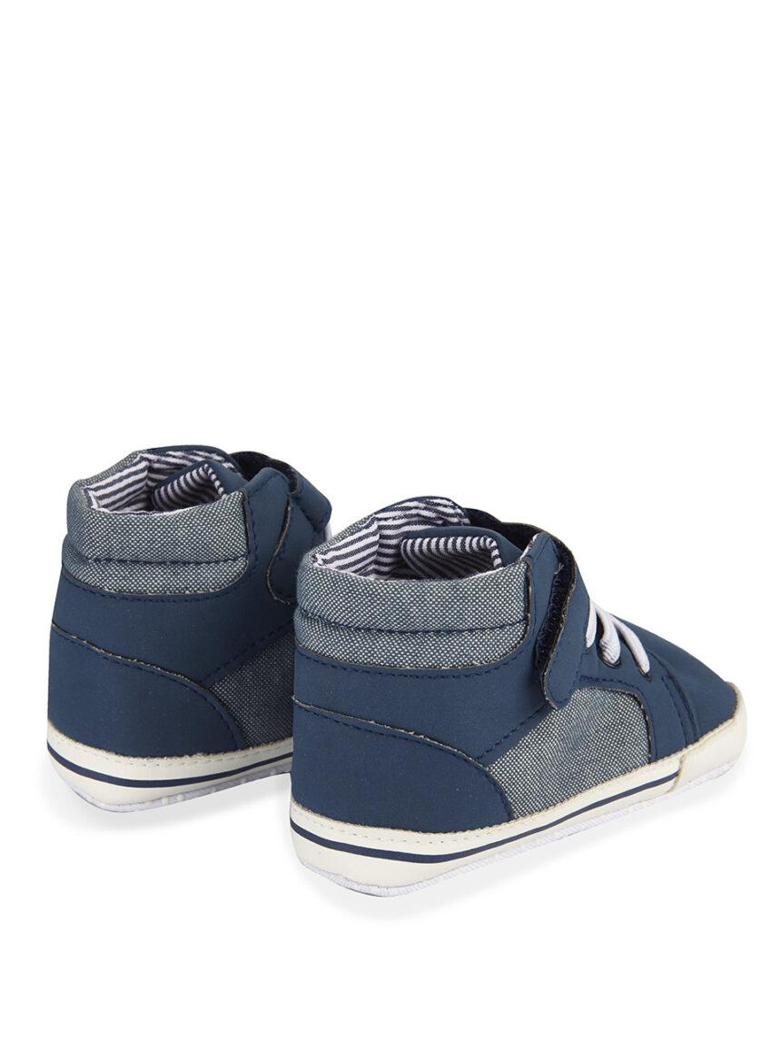 Sapatos jeans com fecho de velcro - Prénatal