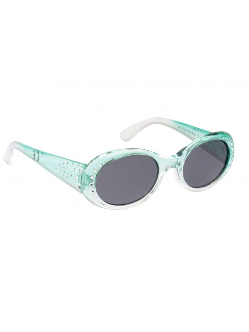 óculos de sol aquamarine com rinestones - Monkey Monkey