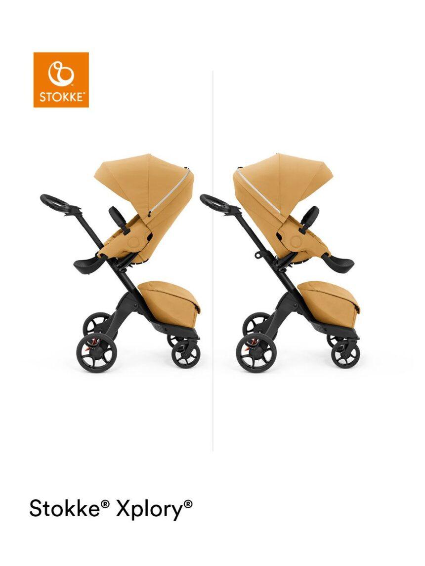 Stokke® xplory® x design único para trazer você perto do seu bebê - Stokke