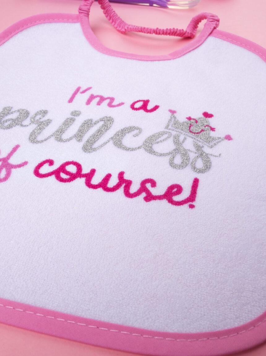 """Garota bavaglino """"eu sou uma princesa do curso"""" - Prénatal"""