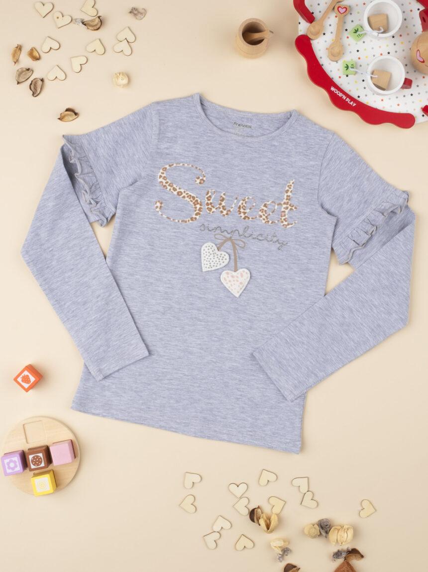 """T-shirt girl """"sweet simplicity"""" - Prénatal"""