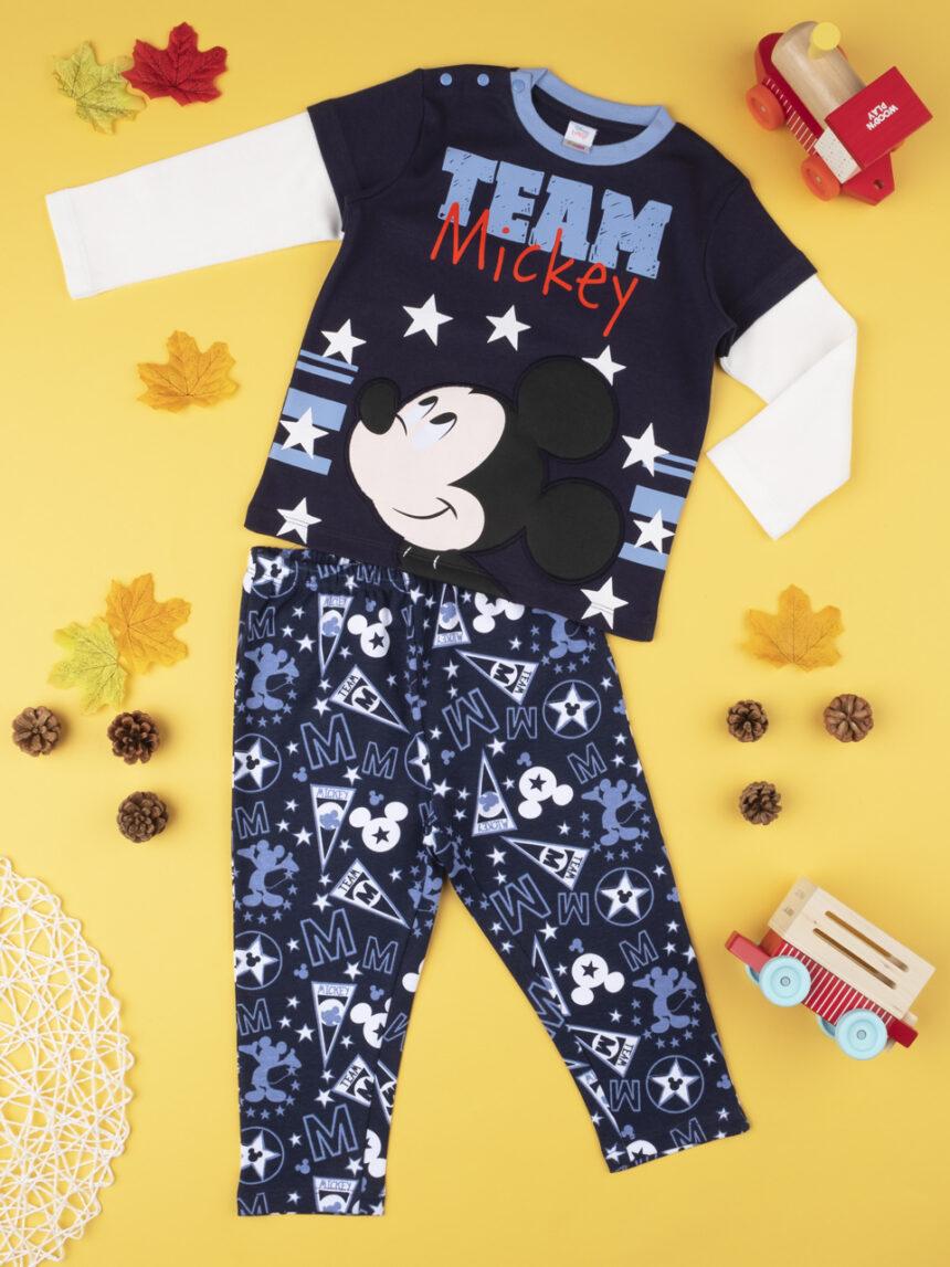 "Pijama de menino ""team mickey"" - Prénatal"