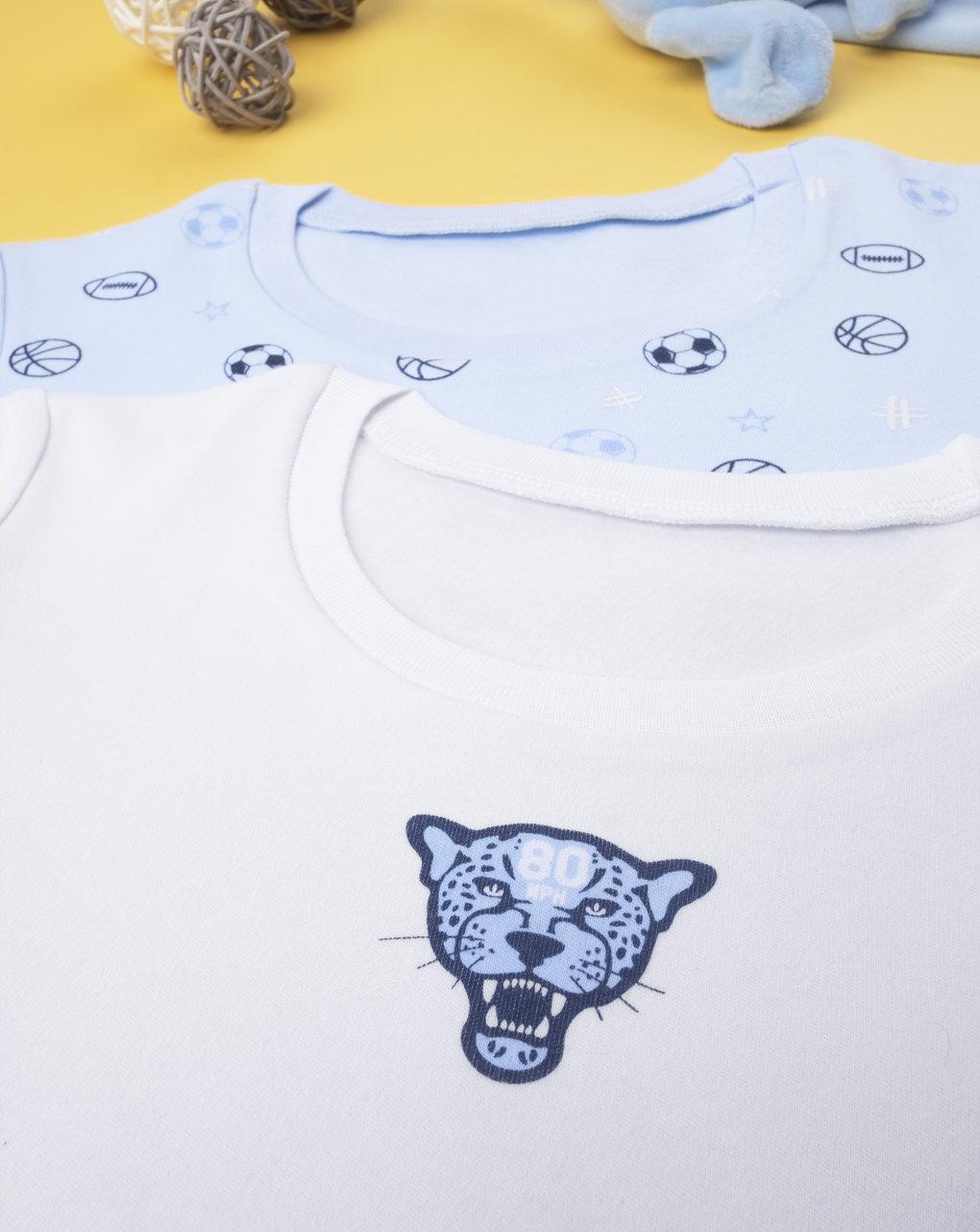 """Pack 2 t-shirt intime boy """"sport"""" - Prénatal"""
