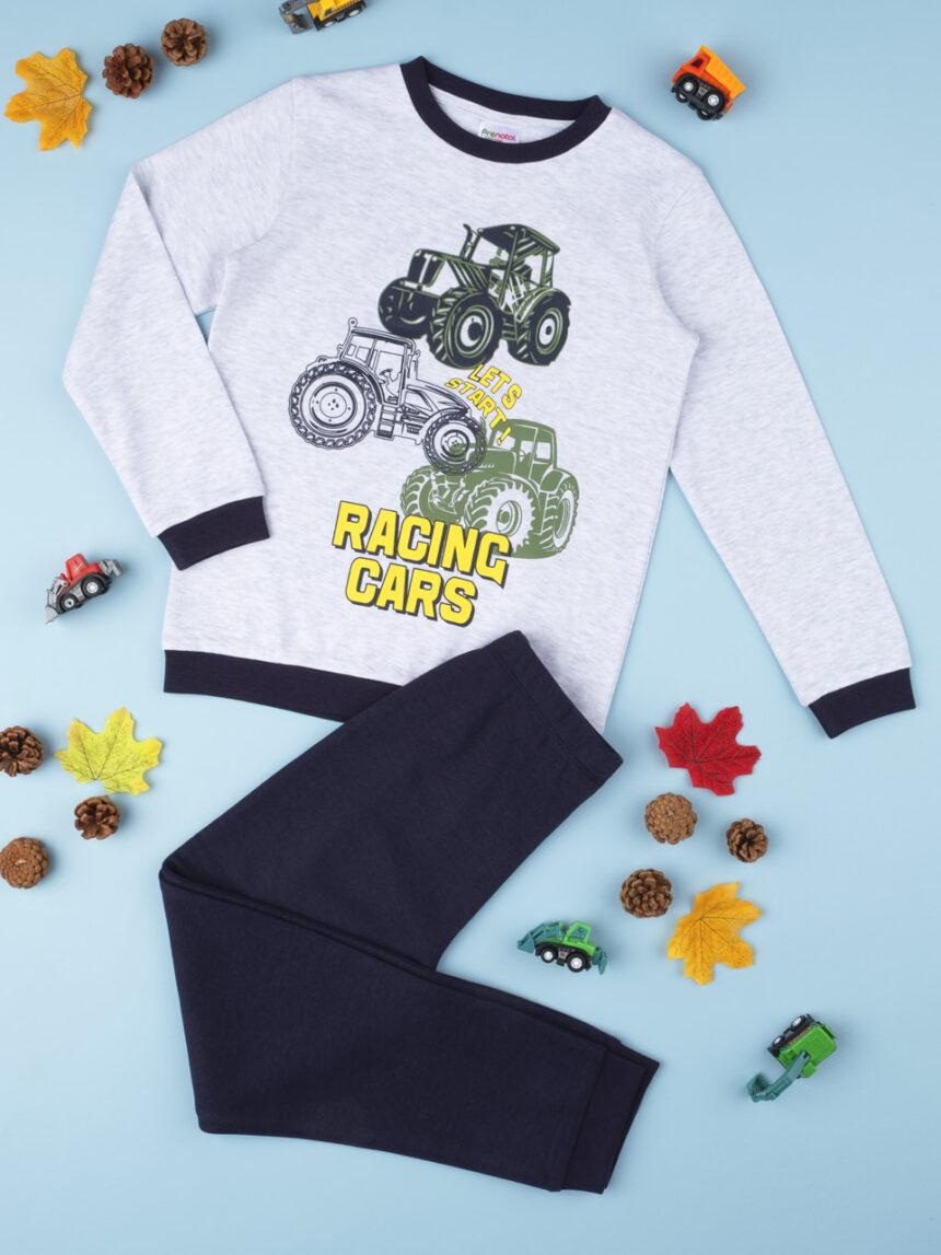 "Completo boy ""racing cars"" - Prénatal"