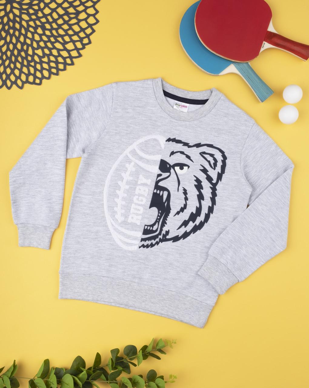 "Camiseta ""rugby & lupo"" - Prénatal"