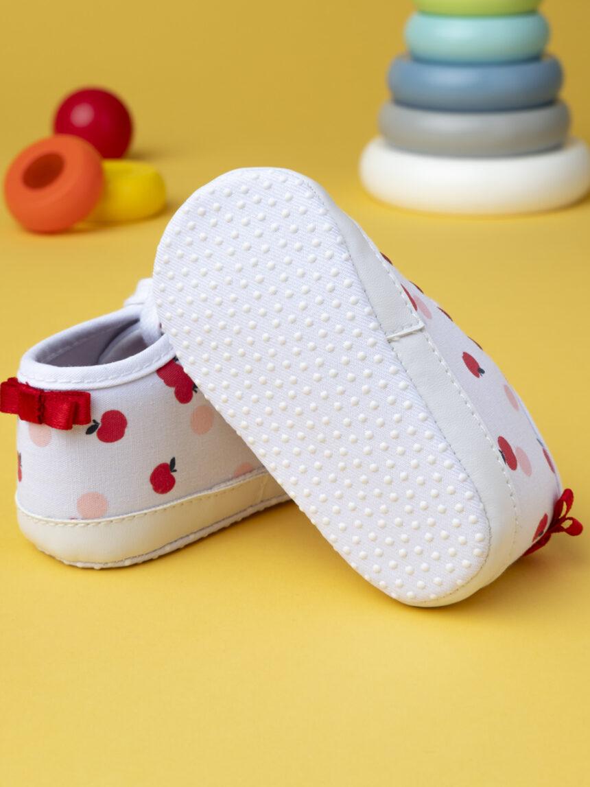 """Sapatos de menina """"maçã"""" - Prénatal"""
