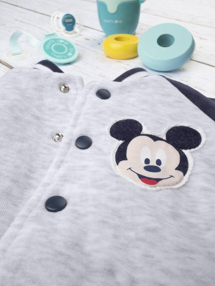 """Jaqueta de chenille para menino """"mickey mouse"""" - Prénatal"""