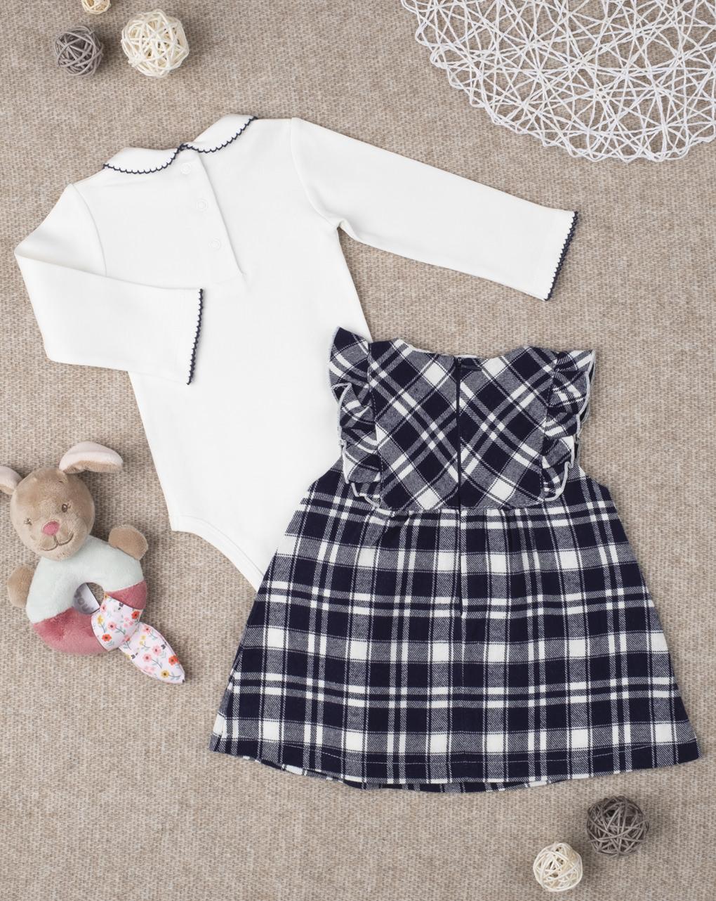 Vestido e corpo completo para menina - Prénatal