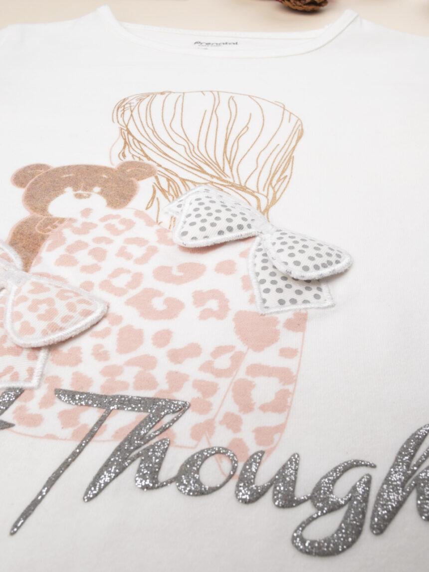"""T-shirt girl """"sweet thoughts"""" - Prénatal"""
