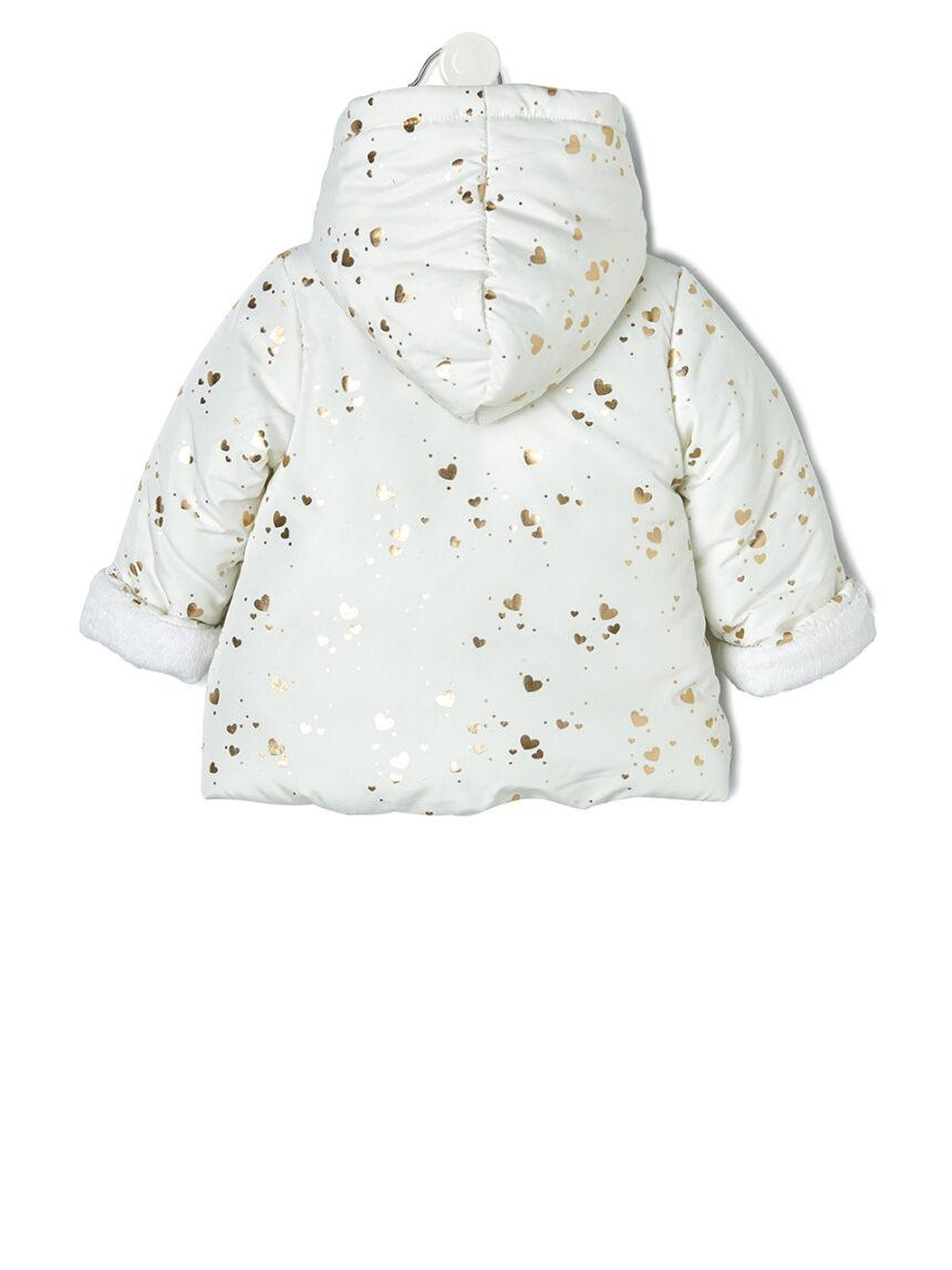 Jaqueta de nylon com estampa allover - Prénatal