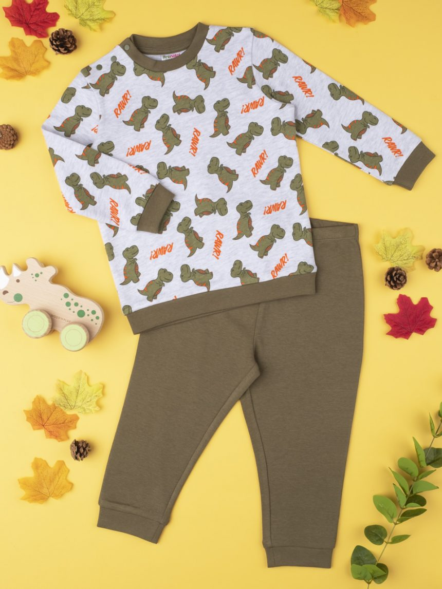 "Pijama de menino ""rawr dinosaurs"" - Prénatal"