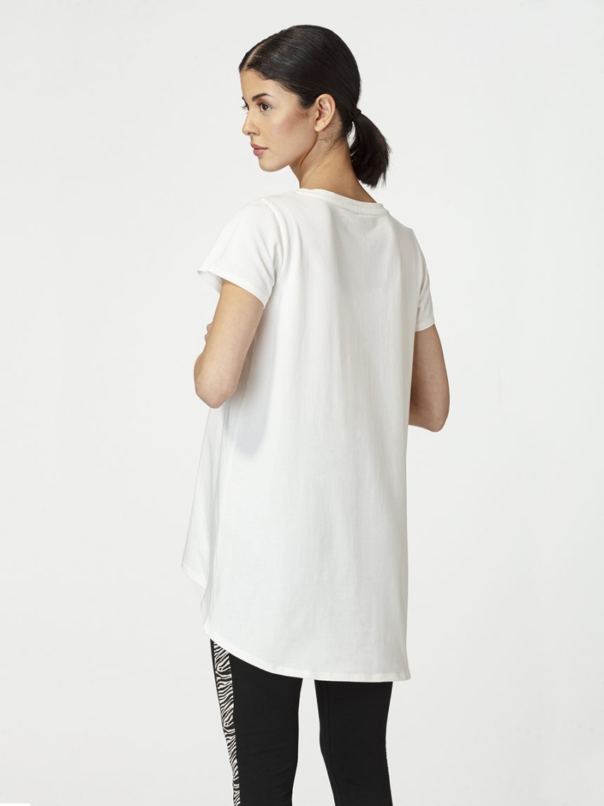 Camiseta maternidade com estampa metalizada - Prénatal