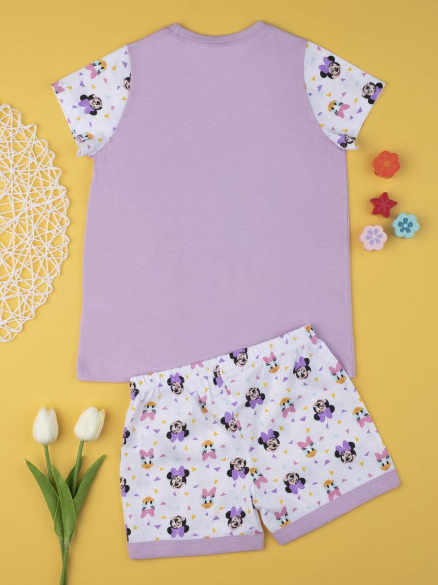 """Garota de pijama """"minnie & daisy duck"""" - Prénatal"""