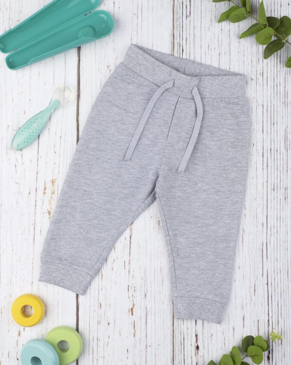 """Pantalone felpato basic """"grey"""" - Prénatal"""