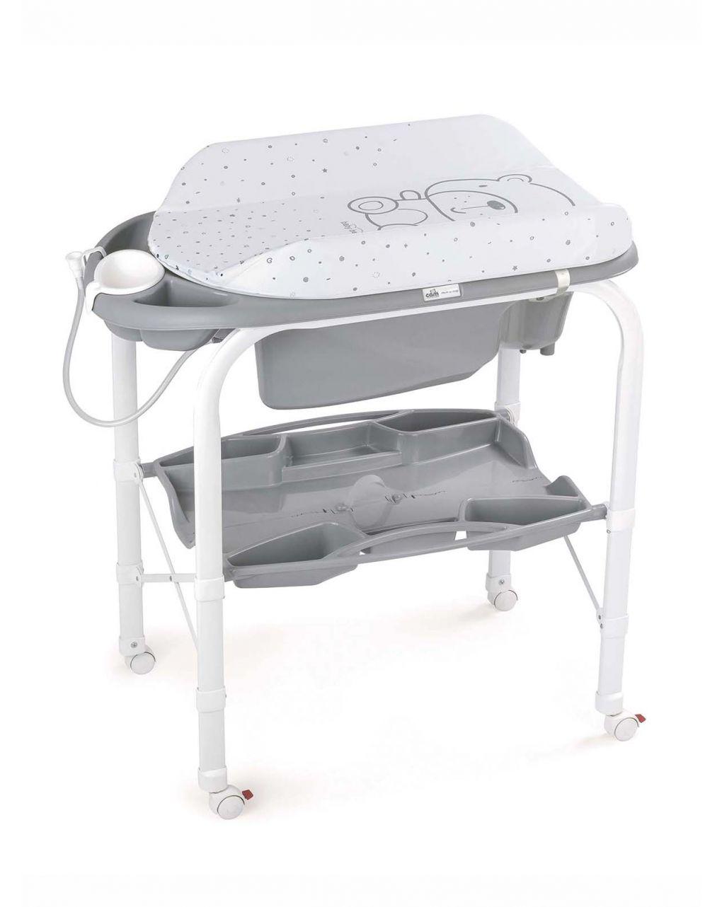 Trocador de banho para bebê teddy grey - Cam