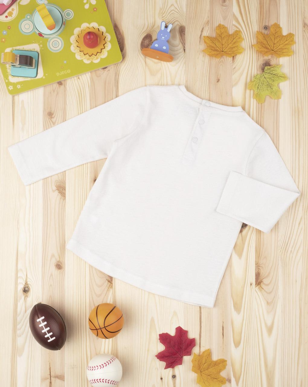 """T-shirt de menino """"rugby team"""" - Prénatal"""