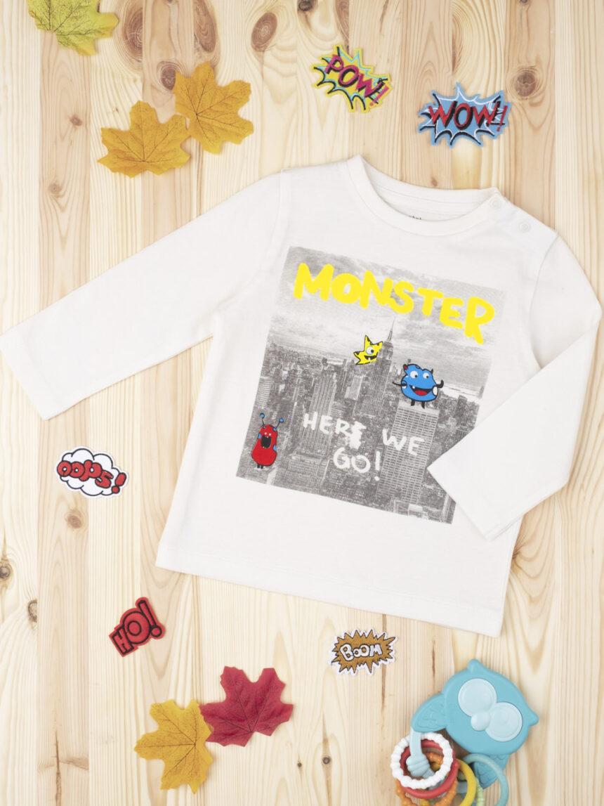 "Menino da camiseta ""monstro"" - Prénatal"