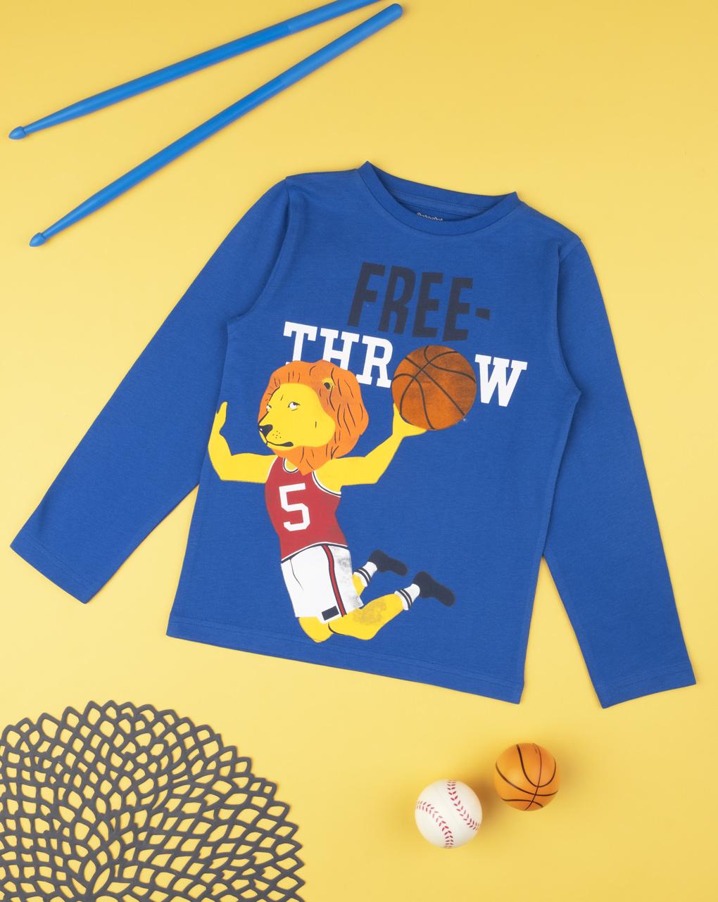 """T-shirt de menino """"lançamento livre"""" - Prénatal"""