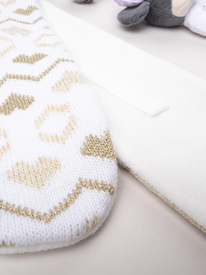 Cachecol tricot feminino - Prénatal