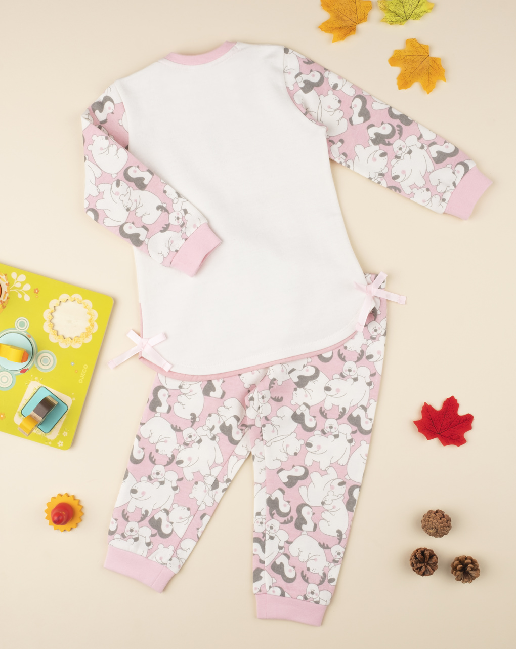 """Pijama de menina """"polar"""" - Prénatal"""
