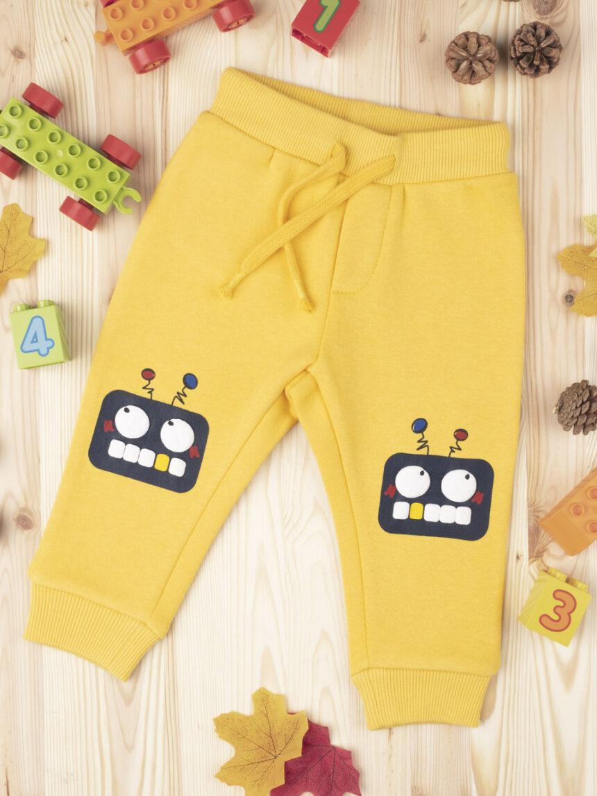 """Garoto pantalone """"robô"""" - Prénatal"""