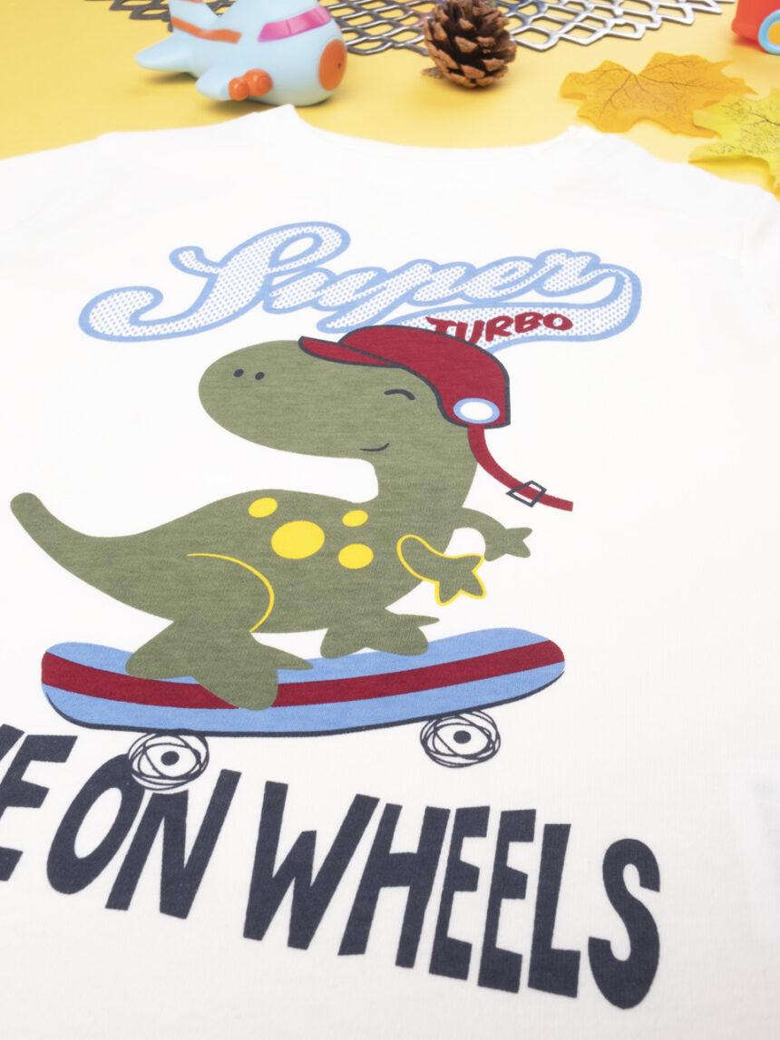 "T-shirt menino ""super turbo"" - Prénatal"