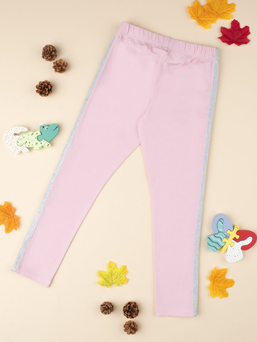"Leggings rosa ""stripes"" - Prénatal"