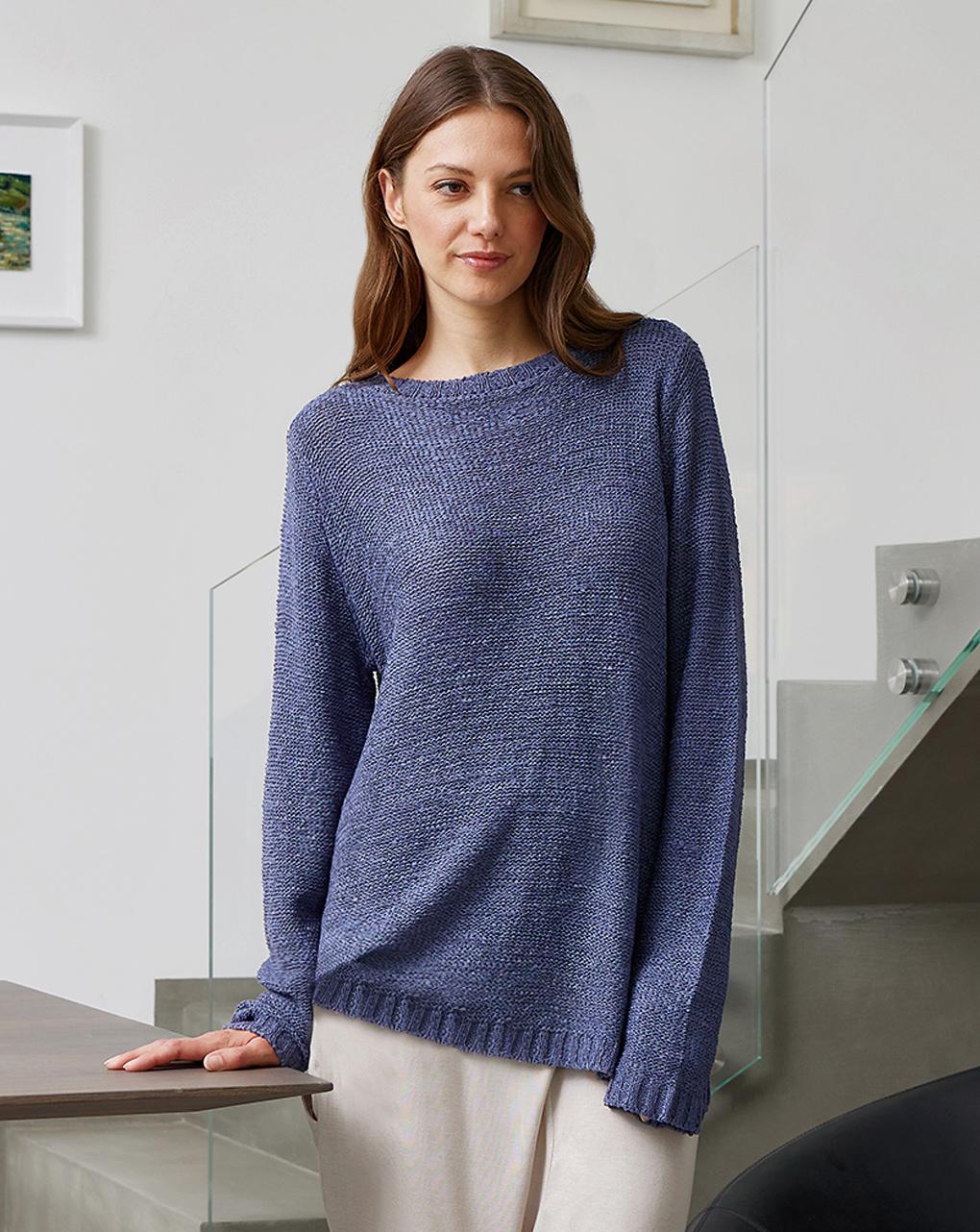 Suéter de malha para maternidade - Prénatal