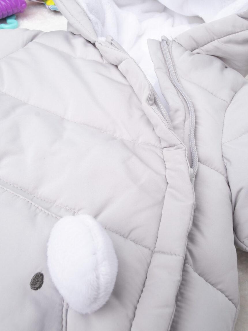 Jaqueta cinza menino - Prénatal