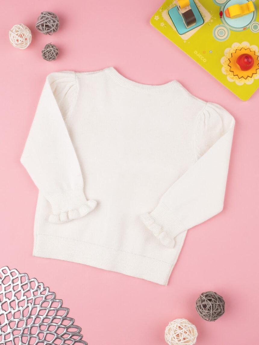 Cardigan tricot girl panna - Prénatal