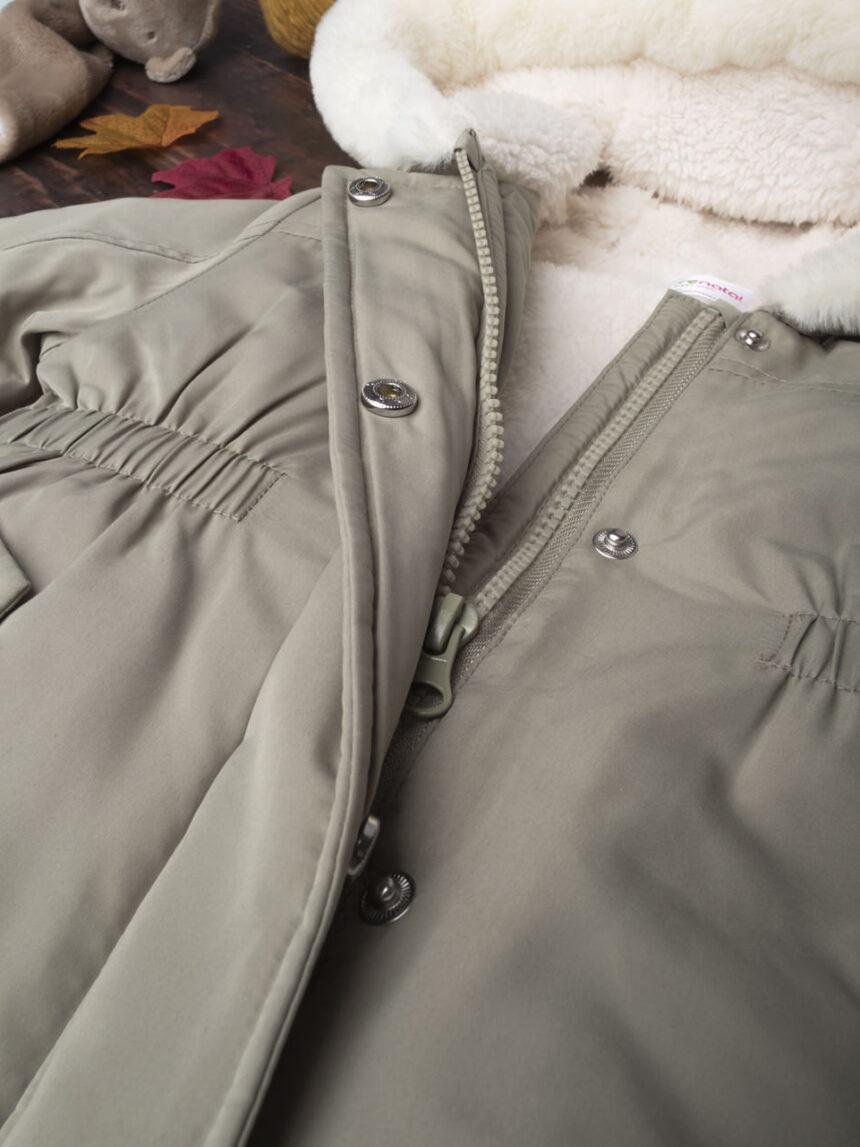 Jaqueta militar verde - Prénatal